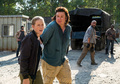 7x11 ~ Hostiles and Calamities ~ Eugene and Laura - the-walking-dead photo