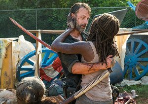 7x12 ~ Say Yes ~ Rick and Michonne