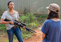 7x14 ~ The Other Side ~ Rosita and Sasha - the-walking-dead photo