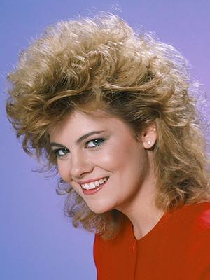 80's Female Hair Perm