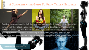 A Comprehensive Guide to Grow Taller Naturally!