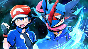 pokemon wallpaper called ASh-Greninja