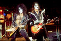 Ace and Paul ~Fayetteville, North Carolina...December 27, 1976 - kiss photo