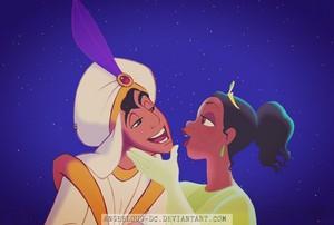 Aladdin/Tiana - Happy Valentine's giorno