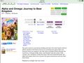 Alpha and omega journey to bear kingdom dvd cover and release date and - alpha-and-omega photo