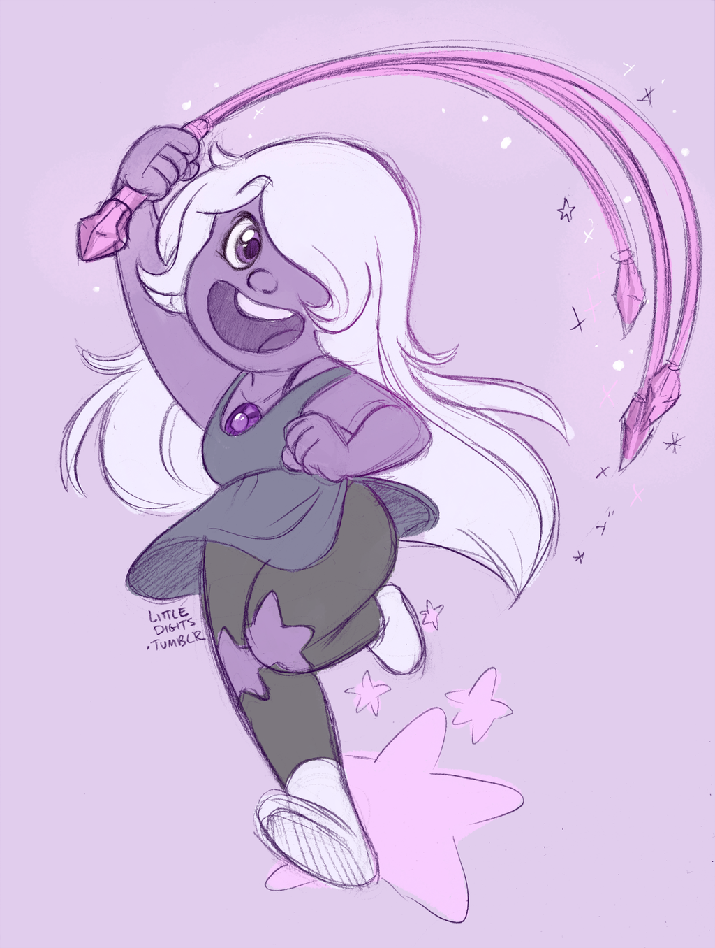 amethyst from steven universe images amethyst hd wallpaper and