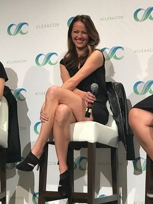 Amy at ClexaCon 2017