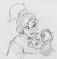 Anastasia concept art - childhood-animated-movie-heroines photo