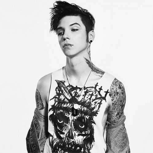 Black Veil Brides achtergrond entitled Andy Biersack