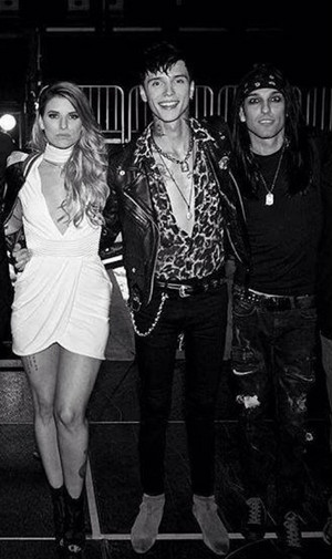 Andy, Juliet, and CC