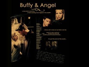 Angel/Buffy Wallpaper