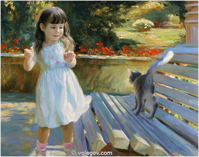 Angel by Vladimir Volegov