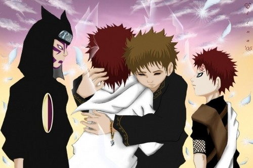 Gaara of Suna wolpeyper entitled Another Gaara Pic