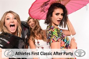 Athletes First Classic After Party Photobooth