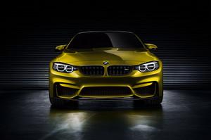 BMW M4 쿠페, 쿠 페 Concept 2013 (Golden) Front View