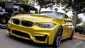 BMW M4 (Golden) - bmw wallpaper