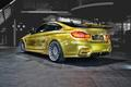BMW M4 (Golden) - bmw photo