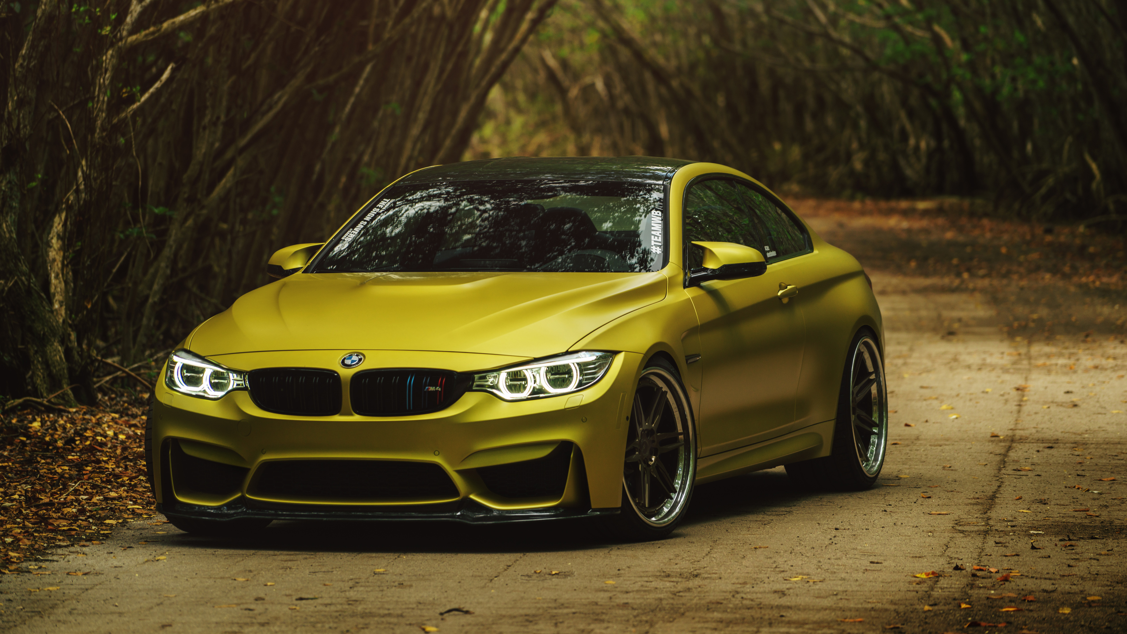Bmw M Images Bmw M4 Golden Hd Wallpaper And Background Photos