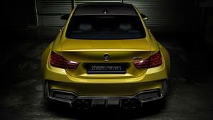 BMW M4 Vorsteiner 2014 (Golden) Rear View