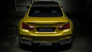 BMW M4 Vorsteiner (Golden) Rear View