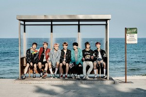 "BTS In New Concept picha For ""You Never Walk Alone"""