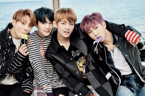 """BTS wallpaper titled BTS In New Concept foto For """"You Never Walk Alone"""""""