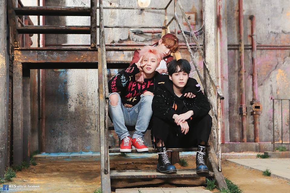 BTS 'You Never Walk Alone' Album Photoshoot Sketch
