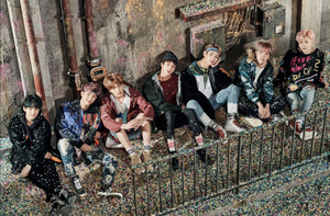 BTS release concept foto for 'You Never Walk Alone'