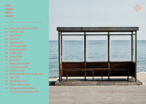 BTS release the full track فہرست for 'You Never Walk Alone'