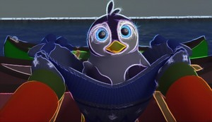 Baby pinguino