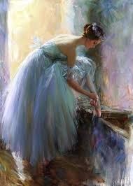 Ballerina In Art