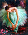 Ballerina In Art - ballet fan art