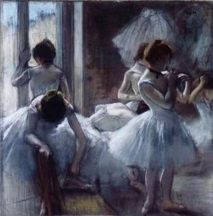 Ballerinas In Art