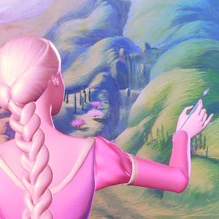 Barbie as Rapunzel wolpeyper called Barbie as Rapunzel