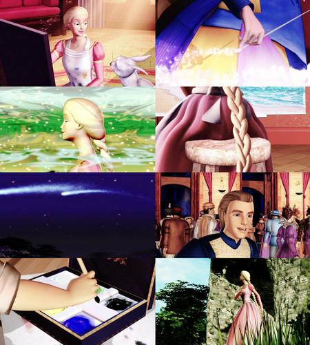 Barbie's Animated Films karatasi la kupamba ukuta titled Barbie as Rapunzel