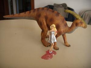 Barbie e il parasaurolofo
