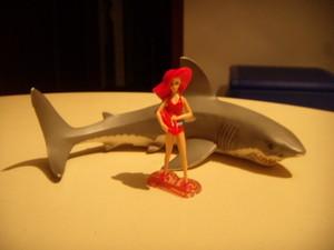 Barbie e lo squalo bianco