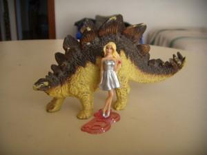 বার্বি e lo stegosauro