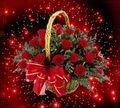 Basket Of Roses - roses fan art