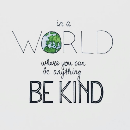 Advice wallpaper entitled Be Kind