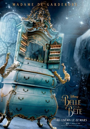Beauty and the Beast (2017) achtergrond titled Beauty and the Beast French posters