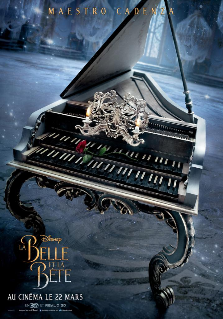 Beauty and the Beast French posters