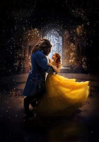 Beauty and the Beast (2017) پیپر وال called Beauty and the Beast HD Poster