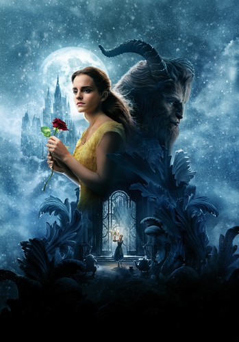 Beauty and the Beast (2017) karatasi la kupamba ukuta called Beauty and the Beast HD Poster