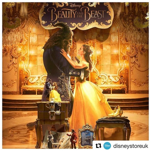 Beauty And The Beast 2017 Fond Decran Entitled