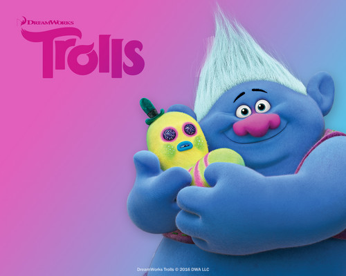 DreamWorks Trolls fondo de pantalla called Biggie