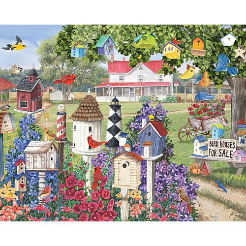 Birdhouses for sale mary lou troutman wallpaper and background