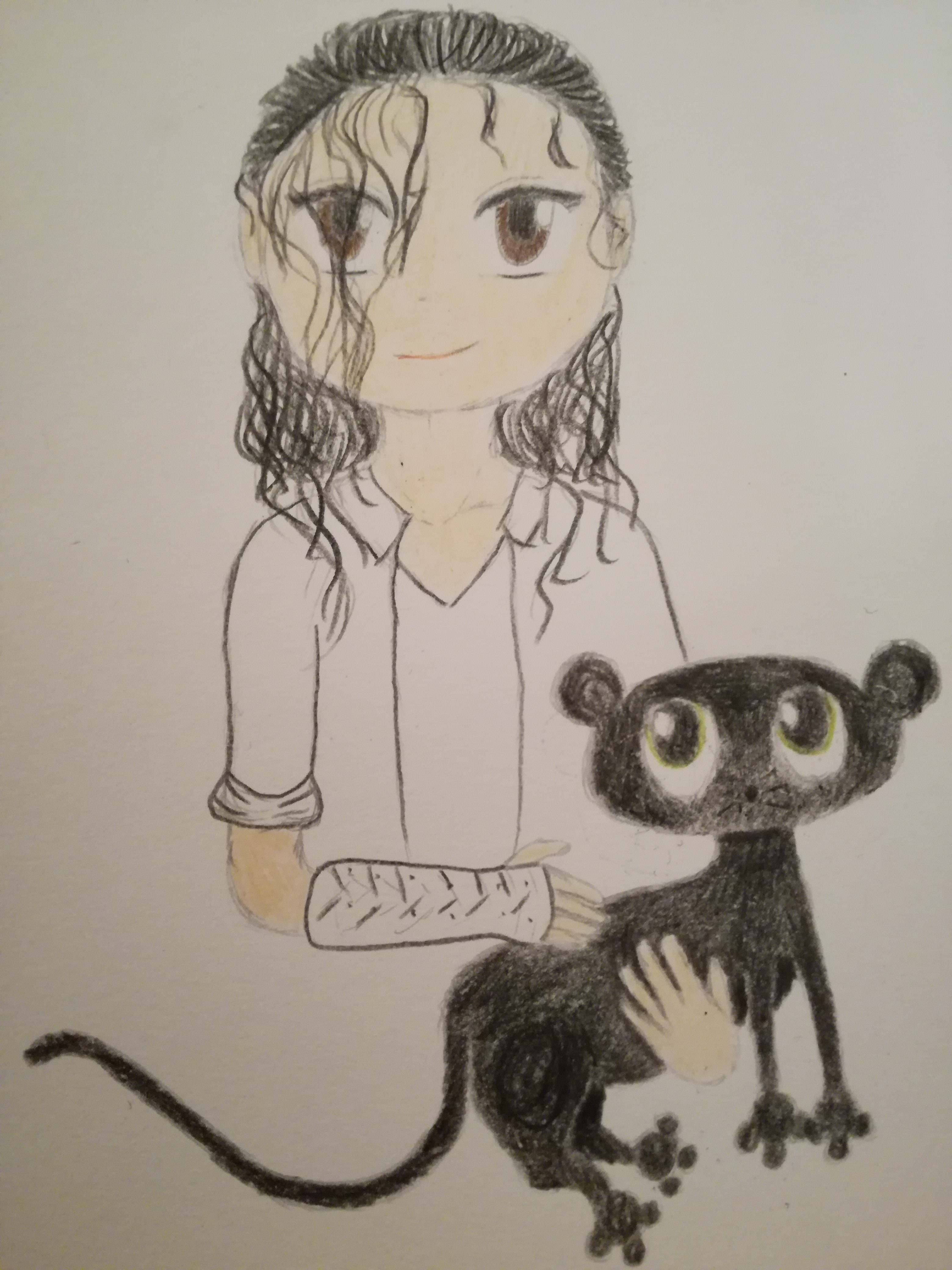 Black ou white drawing(made par me
