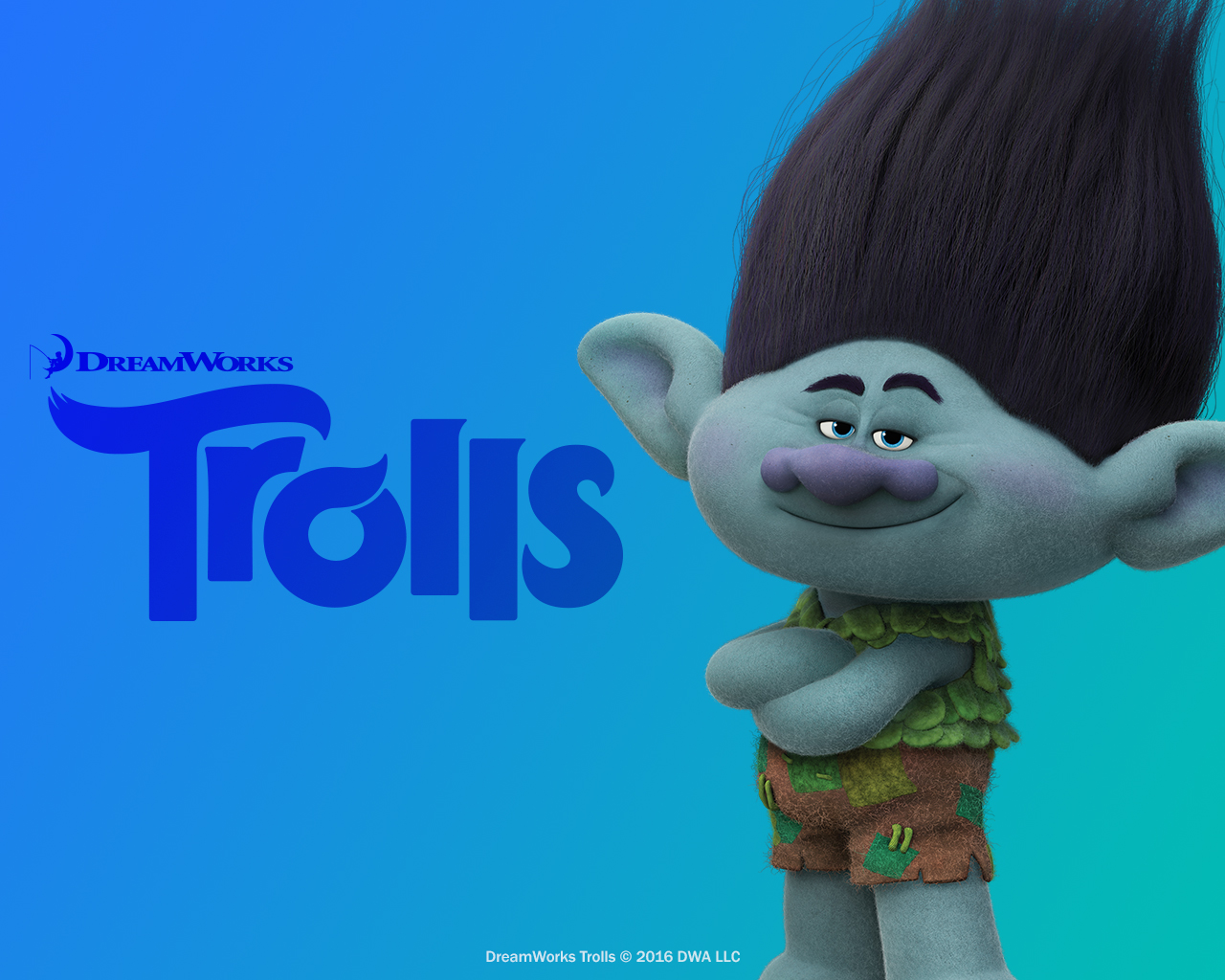 Trolls Holiday Poster >> DreamWorks Trolls images Branch HD wallpaper and background photos (40223515)