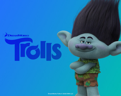 DreamWorks Trolls fondo de pantalla entitled Branch